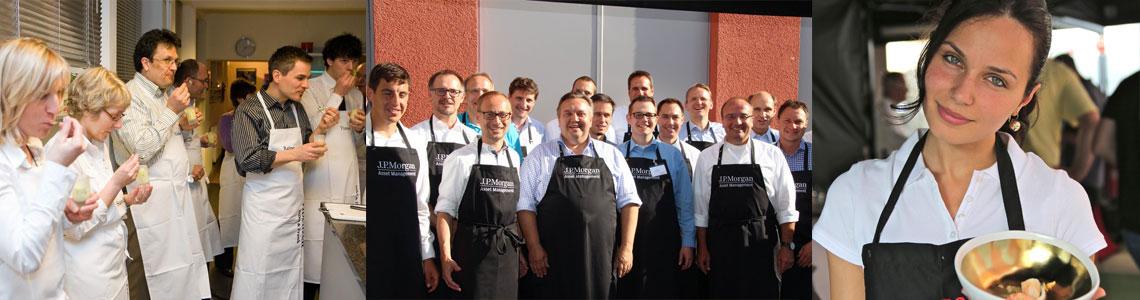 Firmenevents und Teamevents in der Grillschule esscapade